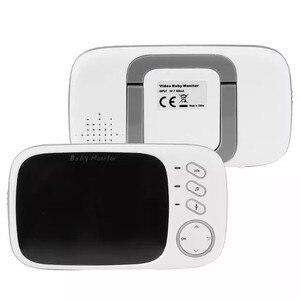 Image 3 - ワイヤレスビデオカラーベビーモニターと 3.2 インチ液晶 2 ウェイオーディオトークナイトビジョン監視セキュリティカメラベビーシッター VB603