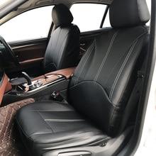 Yeni lüks PU deri otomatik evrensel araba koltuğu kapakları hediye otomotiv koltuk kapakları Fit çoğu araba koltukları su geçirmez araba iç