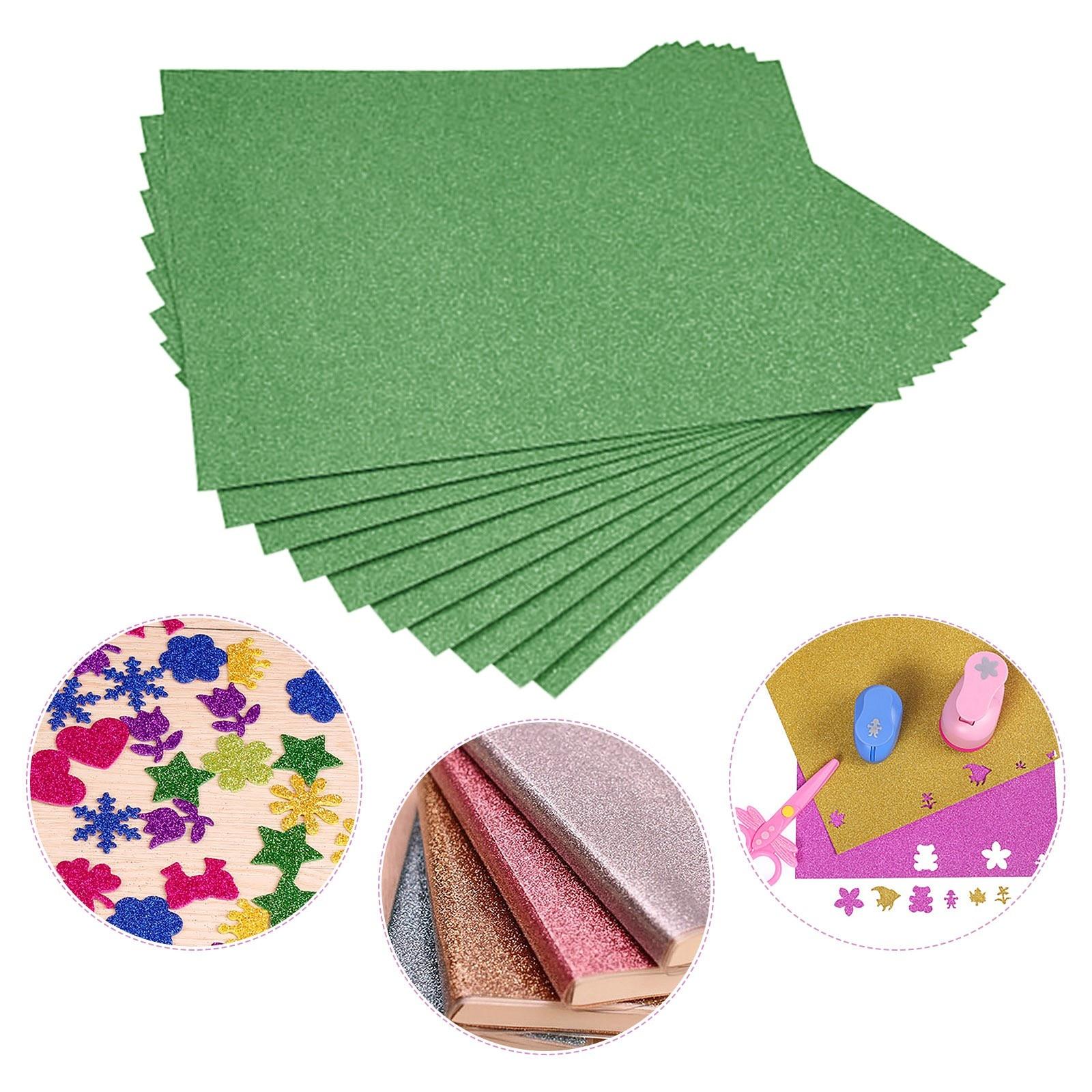 Craft Paper 10/20/30/40/50pcs xFlash Card Paper Flash Shiny Craft Paper Advanced A4 Flash Paper No Adhesive Flash Card Paper New
