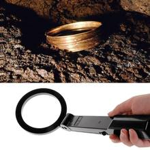 Handheld dobrável detector de metais testador scanner busca ferramenta de segurança instrumento mão localizador de metal detectando a máquina TS-80
