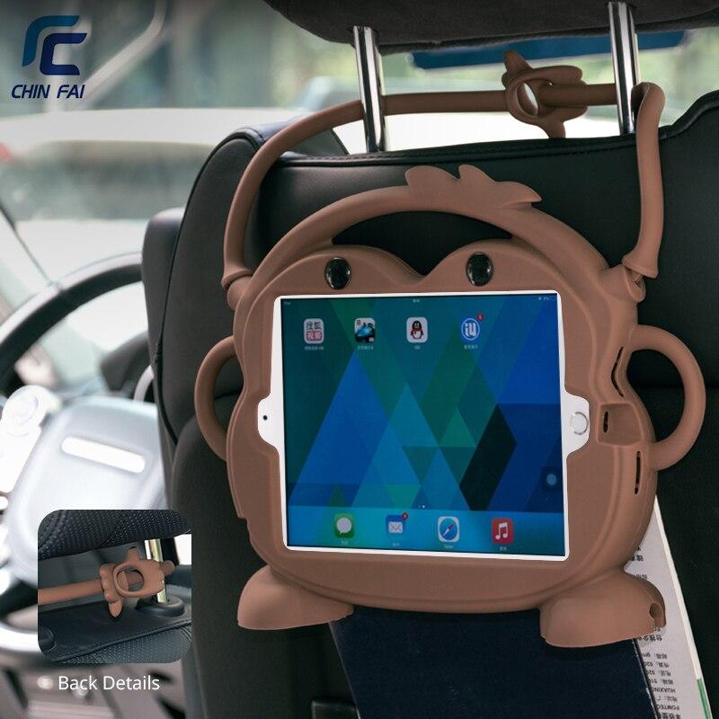 CHINFAI Silikon Fall für iPad mini 1 2 3 4 5 7,9 Kid freundliche Auto Stoßfest Waschbar Stehen Tablet Fall für iPad mini 4 7,9