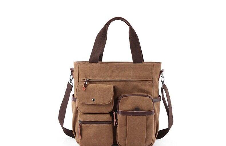 Hb7bfd08abedc4c0fbcda609b92f27e1fy Jorgeolea Men Canvas Business Briefcase Versatile Casual Handbag For Men Travel Satchel E502