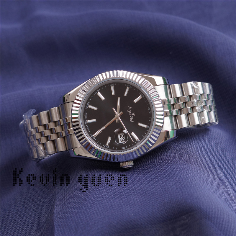 Luxury Brand New Men Watch Automatic Mechanical Stainless Steel President Datejust Rose Gold Silver Blue Black Watches 41mm