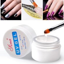 3 Kleuren Helder Wit Roze Nail Art Primer Base Uv Gel Nagellak Top Coat Builder Tips Decor Nail Art manicure Langdurige Nieuwe(China)