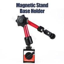 Support magnétique pour indicateur de cadran sondes de mesure jauge de cadran support de Base magnétique universel supports outils de mesure de Distance