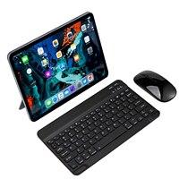 Mini tastiera e Mouse Wireless per Tablet Android ios per IPad 9.7 10.5 Mini tastiera Wireless mouse tastiera Bluetooth