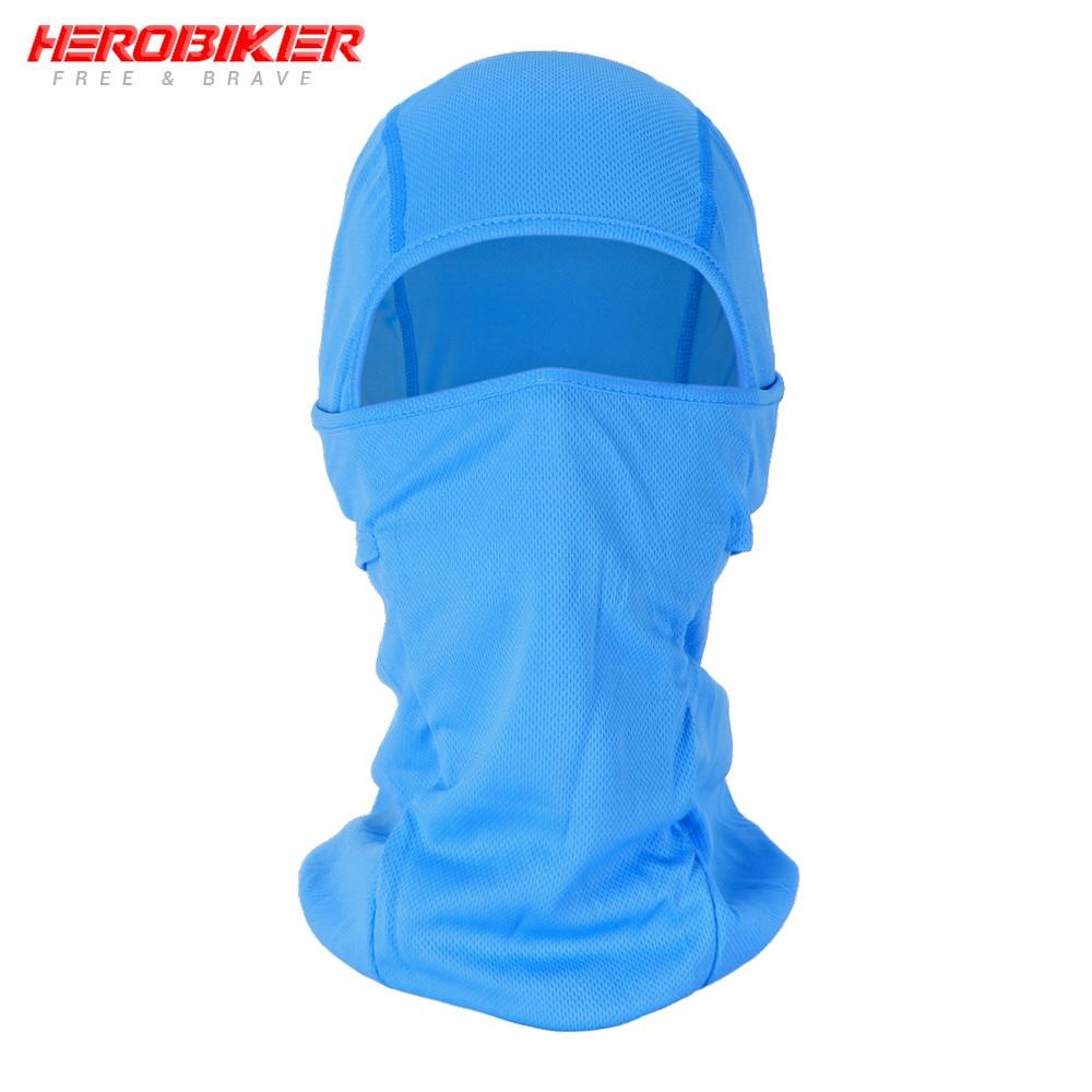 HEROBIKER мотоциклетная Балаклава маска для лица мото теплая ветрозащитная дышащая страйкбольная Пейнтбольная велосипедная Лыжная маска для лица мужской солнцезащитный шлем - Цвет: BE-05