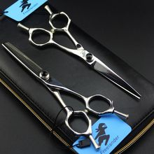 Japan Steel 6 inch Hair Cutting Thinning Scissors Professional High Quality Salon Barber Hairdressing Shears Makas
