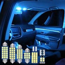 4 шт Автомобильные светодиодные лампы автомобильный интерьерный
