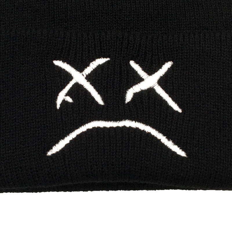 Embroidery Lil Peep Beanie