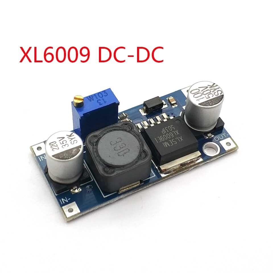DC-DC ajustável step-up módulo conversor de potência xl6009 substituir lm2577