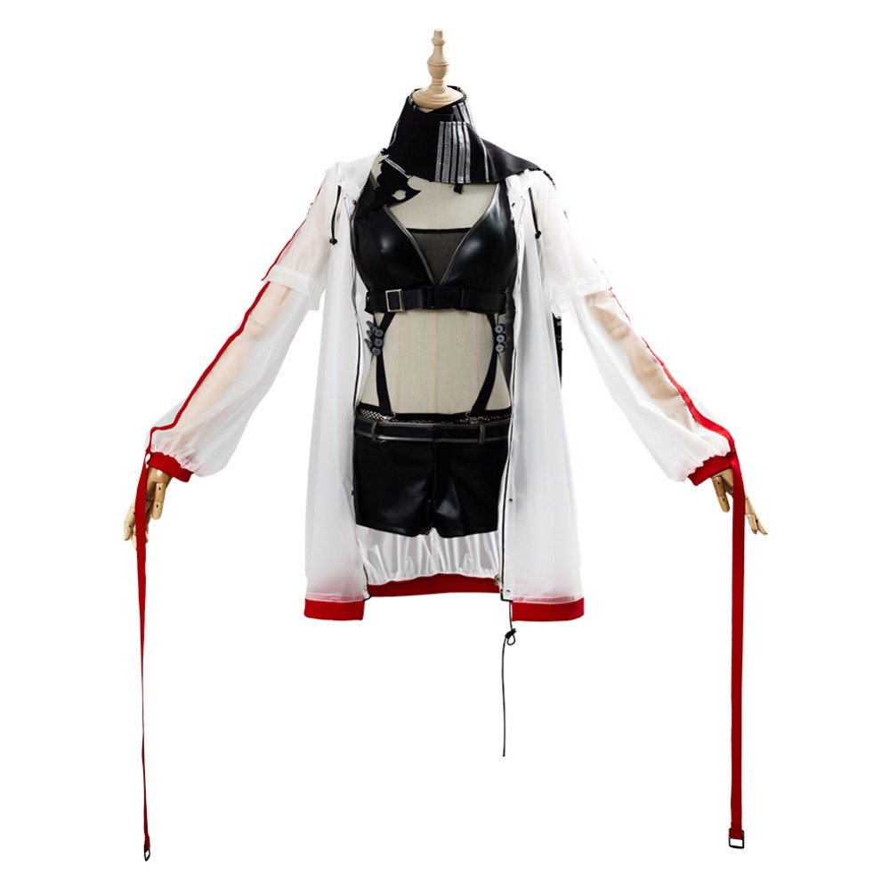 Details about  /Game Arknights CH/'EN Cosplay Costume Women Halloween Outfit Full Set