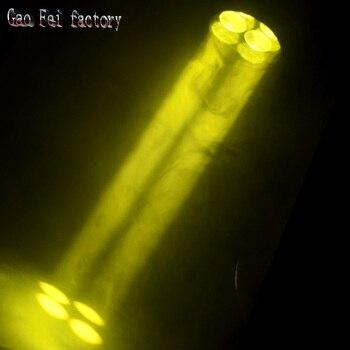 Сценический свет 4x25 Вт супер-луч светодиодный движущийся головной свет с цветным вращением для DJ Club