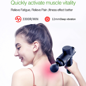 Image 4 - Massage Gun Cordless Percussion Massager Quiet Powerful 6 Massage Heads Provides Full Body Relief for Muscle Ache Pain Tension