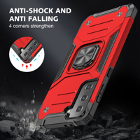 Custodia per armatura per Samsung Galaxy S21 S20 FE S10 nota 10 20 Plus Ultra A02 A51 A71 M21 M31 M31S M51 A21S A20e A50 A70 Cover per telefono