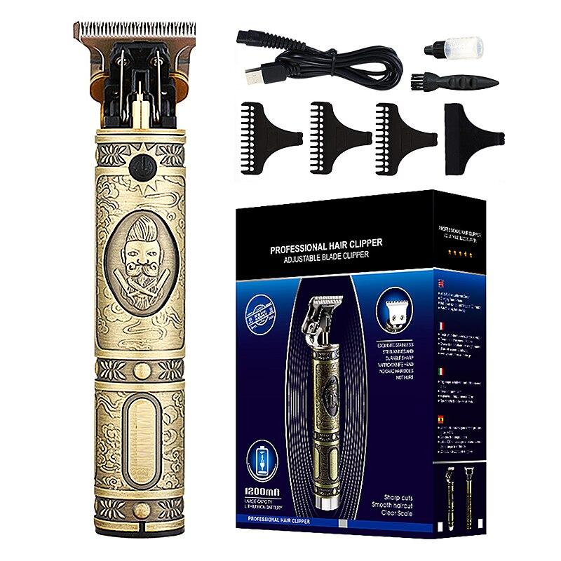 Electric Hair Clipper Rechargeable Shaver Beard trimmer Professional Hair Trimmer Cordless Men Hair Cutting Machine Beard razorHair Trimmers   -