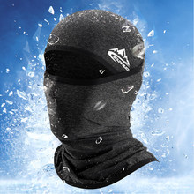 Cagoule d'été en soie glacée pour hommes, couvre-visage multifonctionnel, respirant, Anti-poussière, pare-soleil, nouveauté