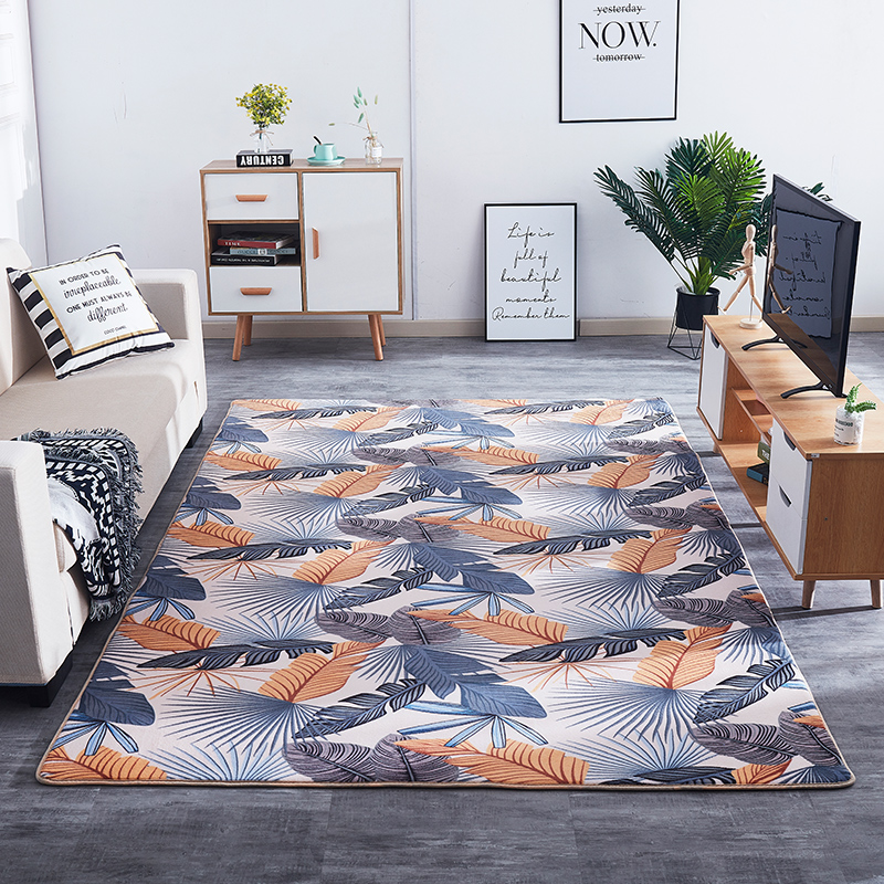 Baby Game Pad Nordic Living Carpet Bedroom Mats Net Red Living