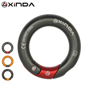 XINDA outdoor 23kN Openable Ring 7075 aluminium multi directional gated ring for climbing - discount item  34% OFF Camping & Hiking