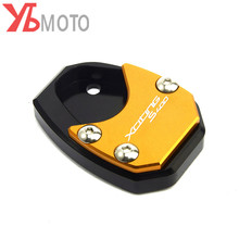 New Design For KYMCO Xciting S 400 s400 400s 2017 2020 2018 2019 Motorcycle Side Stand Enlarger kickstand pad