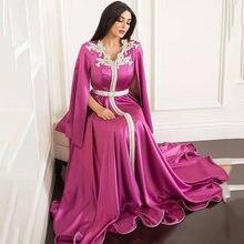 Eightree/марокканские вечерние платья caftan с длинными рукавами;