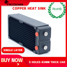 Copper Radiator Computer Water-Cooler FREEZEMOD G1/4 PC Rohs-Certification TSRP-HP65-240