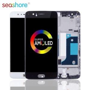 Image 1 - 100% NGUYÊN BẢN Cho OnePlus 5 Màn Hình Cảm Ứng LCD Bộ Số Hóa Cho Oneplus 5 Màn Hình Hiển Thị có Khung Thay Thế 1 + 5 màn hình A5000 MÀN HÌNH LCD
