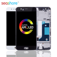 100%New ORIGINAL For ONEPLUS 5 LCD Touch Screen Digitizer Assembly For Oneplus 5 Display with Frame Replacement 1+5 A5000 Screen