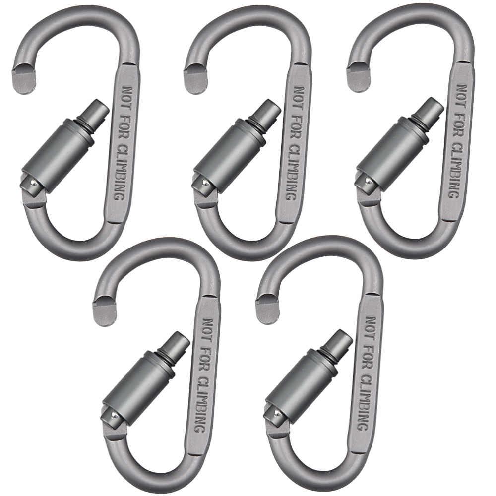 8 Color to Choose Aluminum Carabiners Rock Climbing Caving Snap Clip Hook
