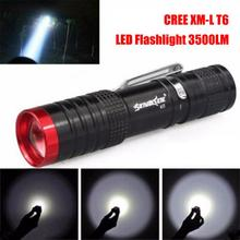 SKYWOLFEYE LED Flashlight & Torch 500LM 3-Mode XPE LED 14500 Flashlight Zoomable Torch Lamp Light Outdoor for Camping Hiking skywolfeye rechargeable flashlight xml t6 led cr123a 500lm mini torch lamp with 3 mode focusing for camp hike outdoor