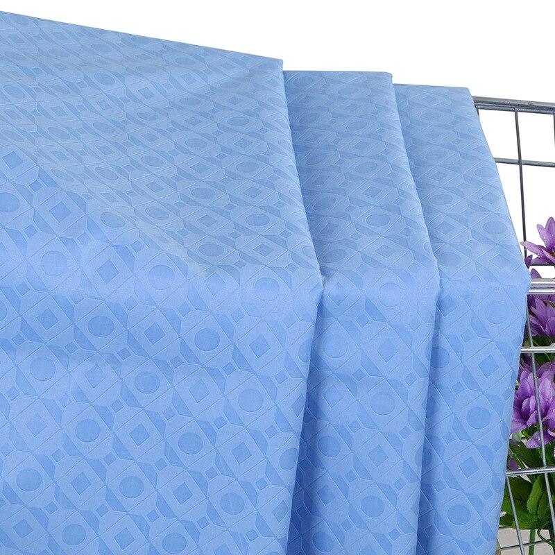 Wholesale Ankara Fabric Real Wax Block African Print Wax Nederlands Nigerian Style Solid Color Batik Cloth Prints For 6yards