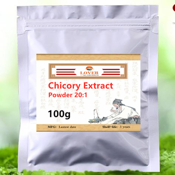 Chicory root extract Powder Reduce blood sugar,Organic Inulin 20:1,Cichorium intybus Extract,clearing away heat and detoxicating Health & Beauty