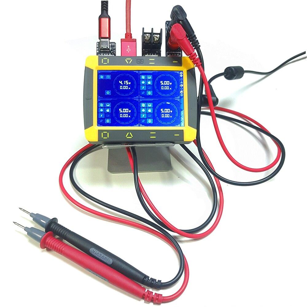 VOLTBOT 4 canaux réglable haute précision DC alimentation rapide Charge Mini numérique stabilisé régulateur AC Compact laboratoire