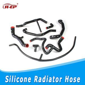 R-EP турбо шланг для Гольф MK3 Впускной охлаждающей жидкости радиатор двигателя комплект силиконовый Jetta MK3 A3 VR6 2,8 2,9 AAA ABV автомобильные аксессу...