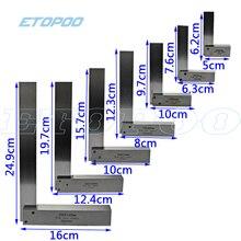 Машинист квадратная 90 градусов прямоугольный инженерный набор прецизионная наземная сталь закаленная угловая линейка датчик квадратная линейка транспортир