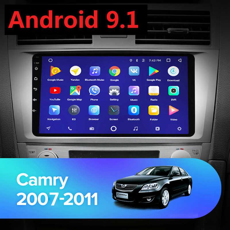 2 + 16G Android 9.1 multimédia automatique pour Toyota Camry 7 40 50 2007-2011 autoradio lecteur vidéo Navigation GPS 2din 2 din pas de dvd