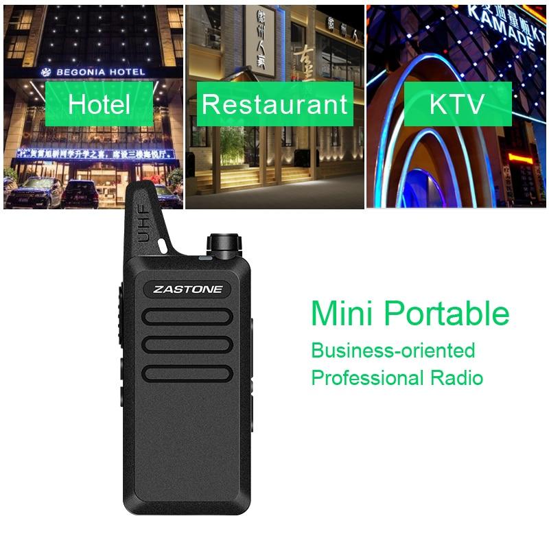 Zastone ZT-X6 Professional Long Distance Woki toki Battery Portable 2 Way CB Ham Radio UHF Mobile walki talki Communication