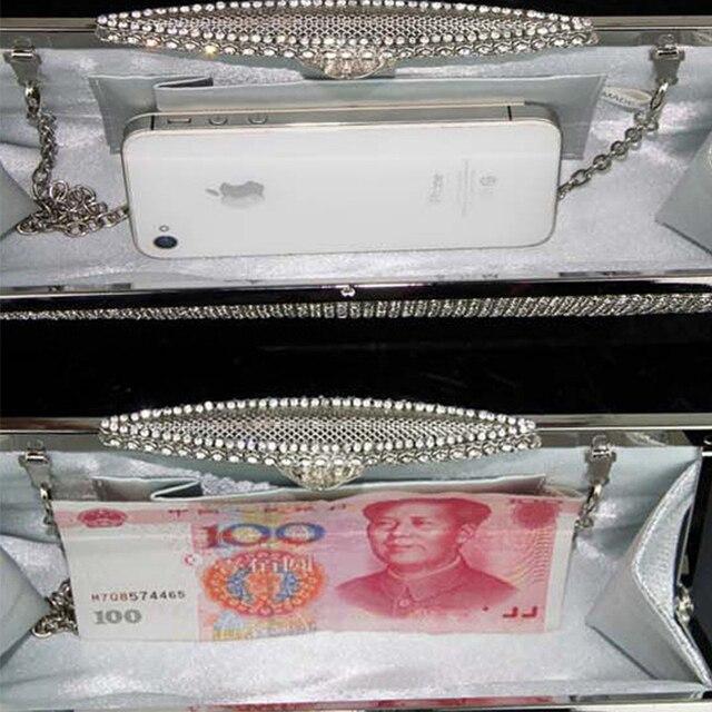 Luxury Diamond Embellished Rhinestone  Mini Handbag  5