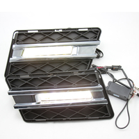 For Mercedes Benz GLK 300 GLK350 GLK500 2008 2012 car LED DRL Daytime Running Light Daylight Fog Head Lamp