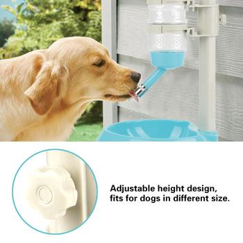Dog Water Bottle Food Feeder Bowl  2