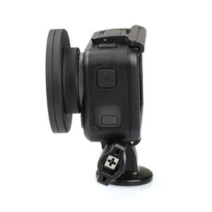 Image 4 - Кольцо адаптер объектива 52 мм из алюминиевого сплава с фильтром UV/CPL, комплект Повышающих Колец, крышка объектива для экшн камеры DJI OSMO, аксессуары
