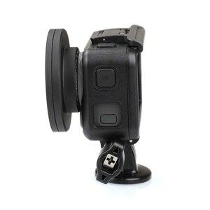 Image 4 - Anneau adaptateur dobjectif en alliage daluminium 52mm filtre UV/CPL Kit de bague dentraînement capuchon dobjectif pour accessoires de connecteur de caméra daction DJI OSMO