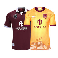 QUEENSLAND MAROONS 2020 RUGBY JERSEY Size: S-3XL--5XL Print custom name number