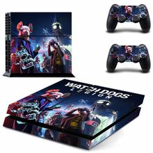 Watch Dogs:Legion PS4 Skin PS 4 Sticker Play station 4 Stickers Pegatinas Adesivo For PlayStation 4 console and 2 controller