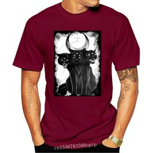 T-shirt Three Headed Cat Satan Satanism Satanismus Anton Lavey Church Of Gothiccool Casual Pride Fashion Tshirt Tees