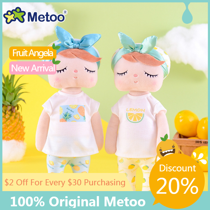 100% Original 43cm Genuine Metoo Doll Stuffed Plush Animals Kids Toy for Girl Children Kawaii Baby Angela Rabbit Soft lols dolls