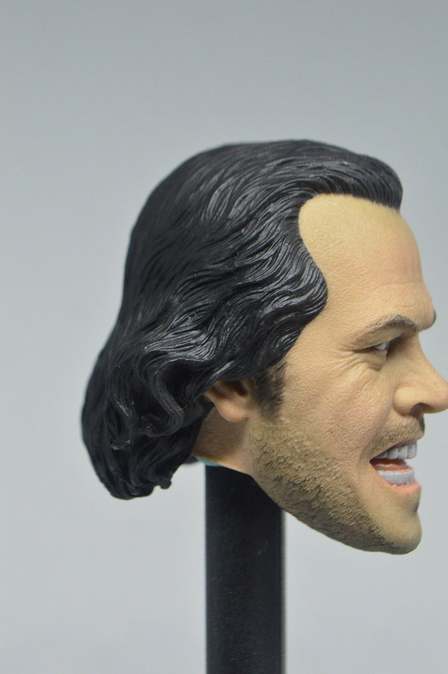 1//6 scale Shocking Guy The Shining Jack Nicholson blank Head Sculpt unpainted #C