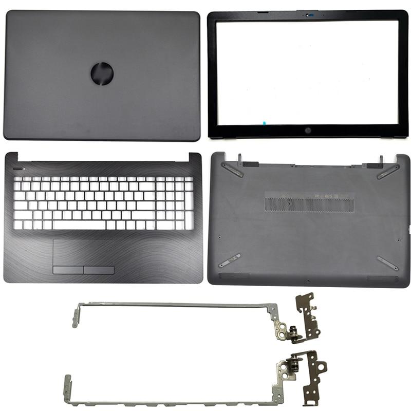Laptop LCD Back Cover/Front Bezel/LCD Hinges/Palmrest/Bottom Case For HP 15-BS 15T-BS 15-BW 15Z-BW 250 G6 255 G6 929893-001 Gray