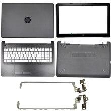 Laptop LCD Back Cover/Front bezel/LCD Hinges/Palmrest/Bottom Case For HP 15-BS 15T-BS 15-BW 15Z-BW 250 G6 255 G6 929893-001 new laptop lcd back cover for hp 15 bs 15t bs 15 bw 15z bw 250 g6 255 g6 black screen back cover top case 924899 001