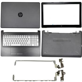 Laptop LCD Back Cover/Front bezel/LCD Hinges/Palmrest/Bottom Case For HP 15-BS 15T-BS 15-BW 15Z-BW 250 G6 255 G6 929893-001 Gray original new for hp pavilion 15 bs 15t bs 15 bw 15z bw 250 g6 255 g6 laptop lcd back cover front bezel hinges 924900 001 white